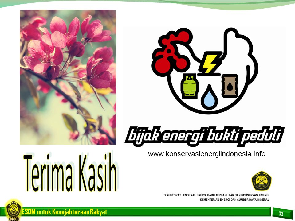 www.konservasienergiindonesia.info Terima Kasih