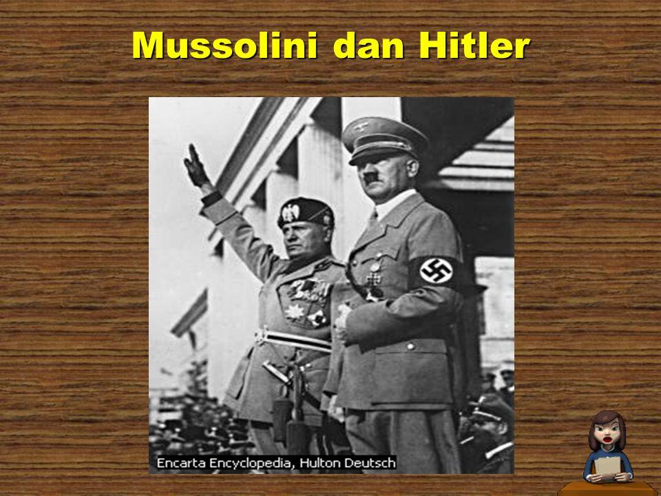 Mussolini dan Hitler