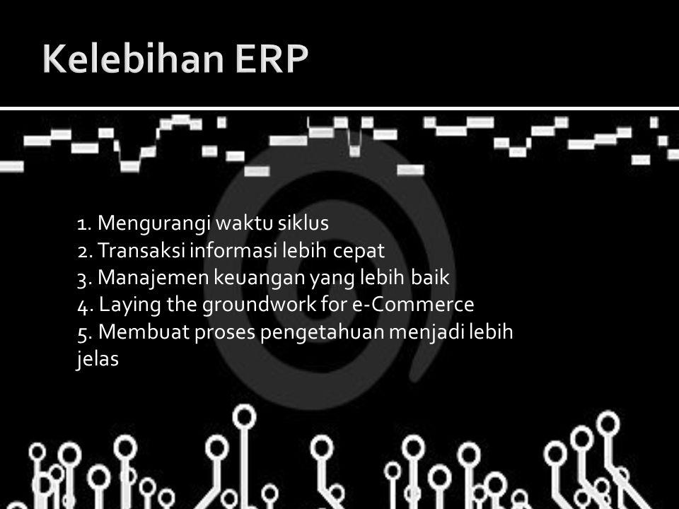 Kelebihan ERP