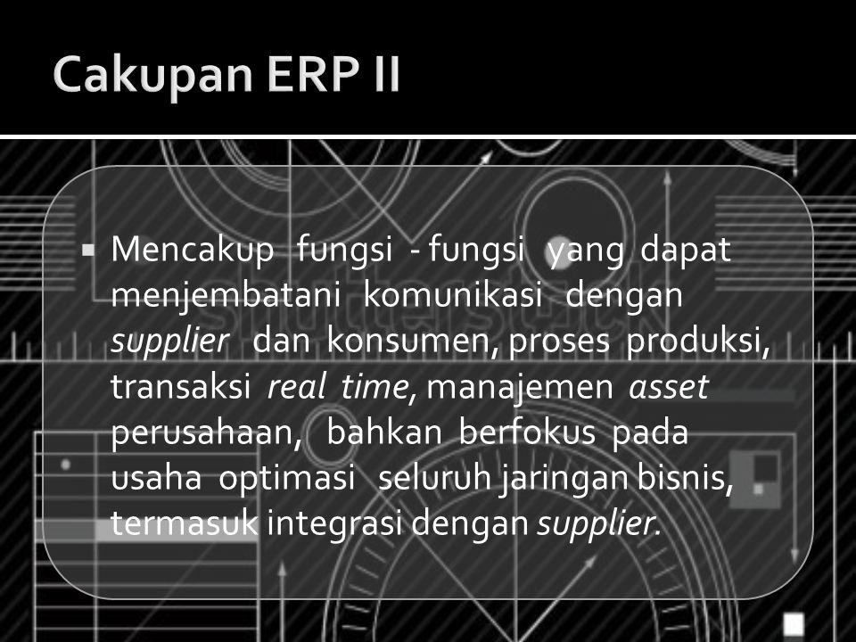 Cakupan ERP II