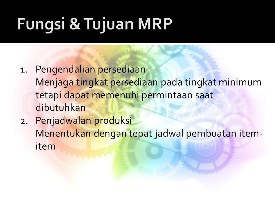 Fungsi & Tujuan MRP