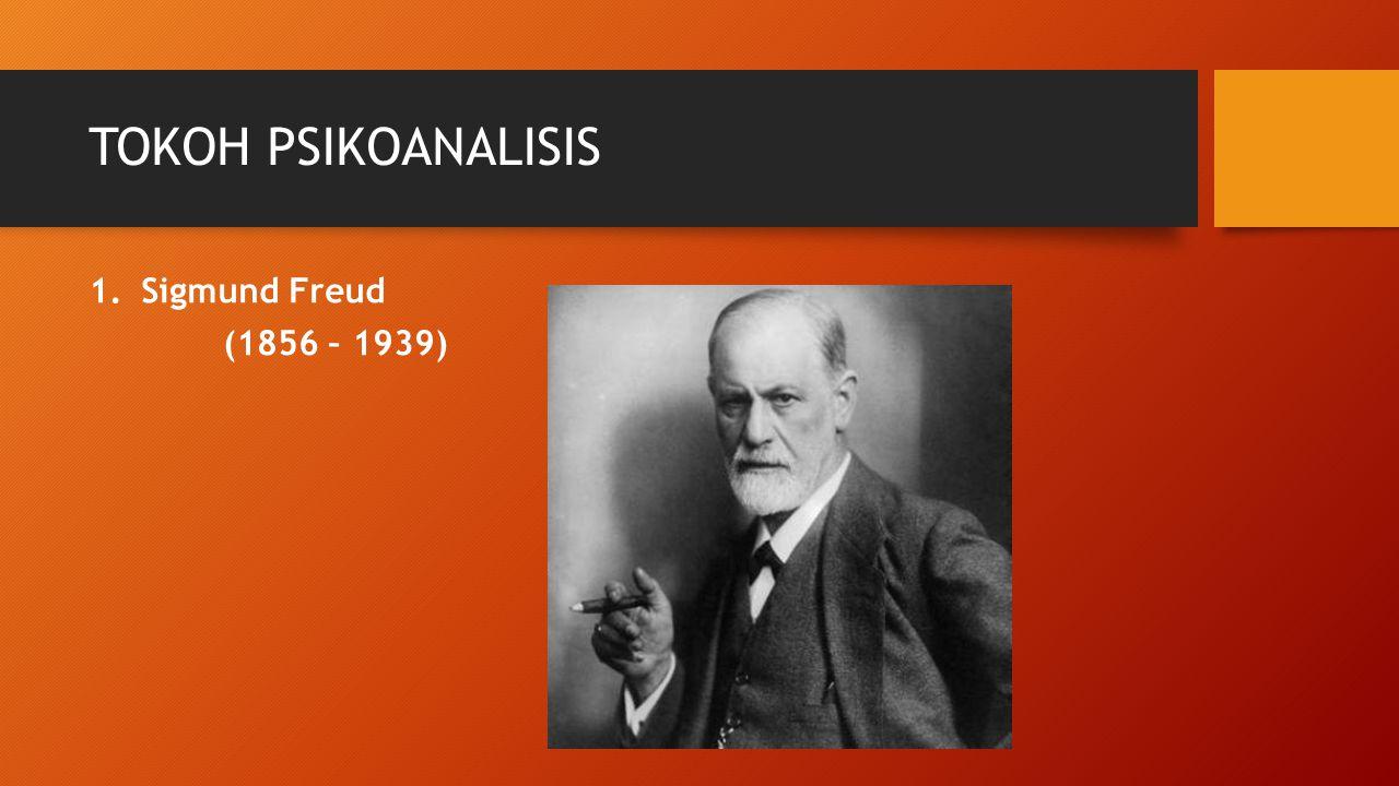 TOKOH PSIKOANALISIS Sigmund Freud (1856 – 1939)