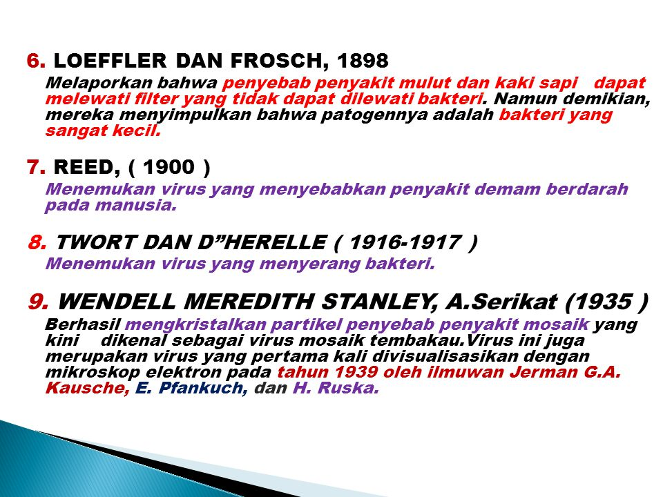 9. WENDELL MEREDITH STANLEY, A.Serikat (1935 )