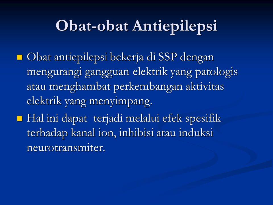 Obat-obat Antiepilepsi