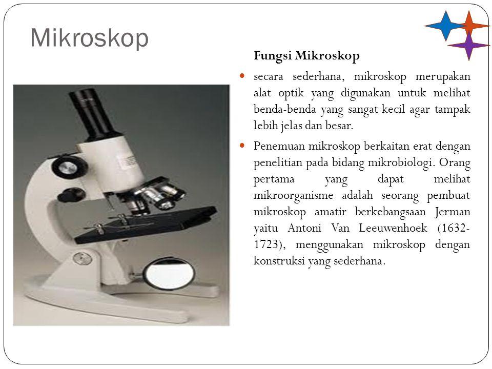 Mikroskop Fungsi Mikroskop