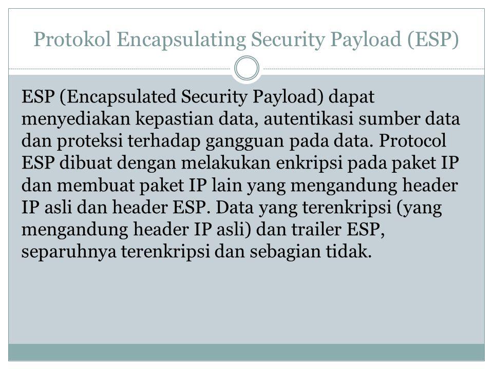 Protokol Encapsulating Security Payload (ESP)