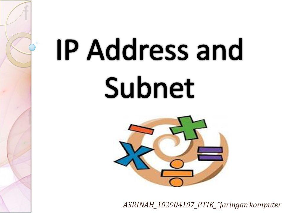 ASRINAH_102904107_PTIK_ jaringan komputer