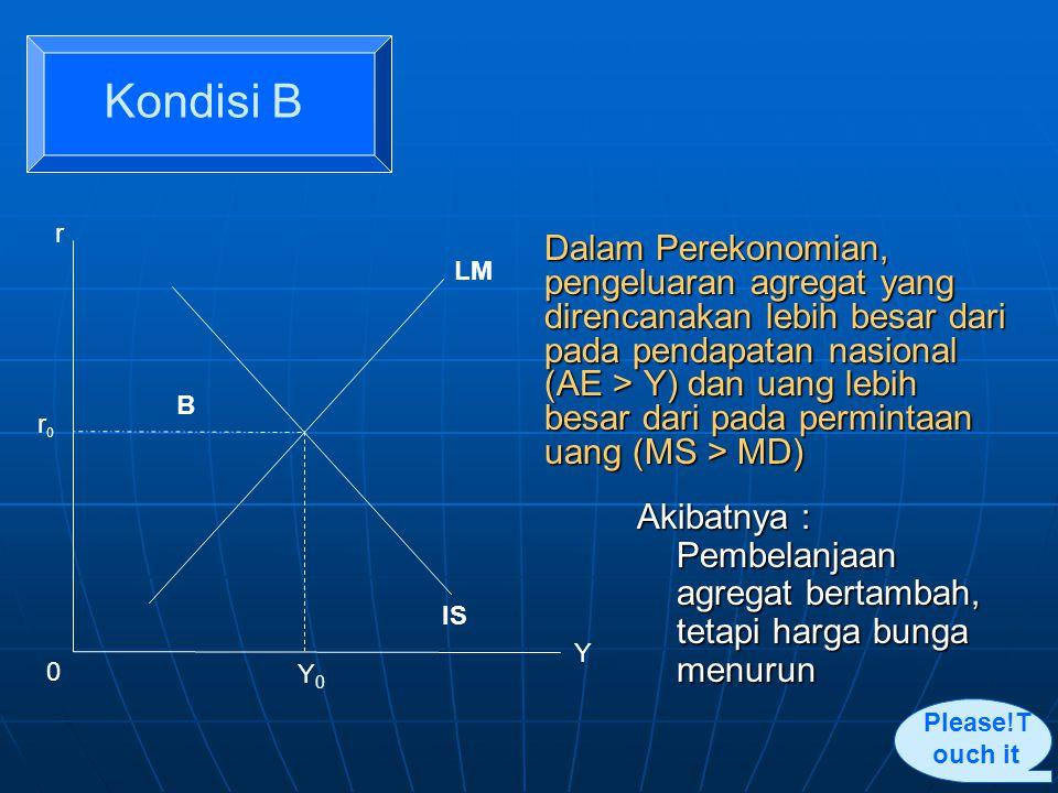 Kondisi B r. r0. B. LM. IS. Y0. Y.