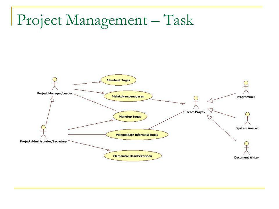 Project Management – Task