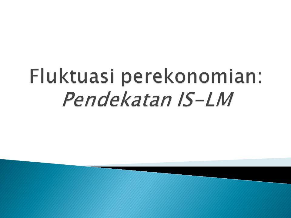 Fluktuasi perekonomian: Pendekatan IS-LM