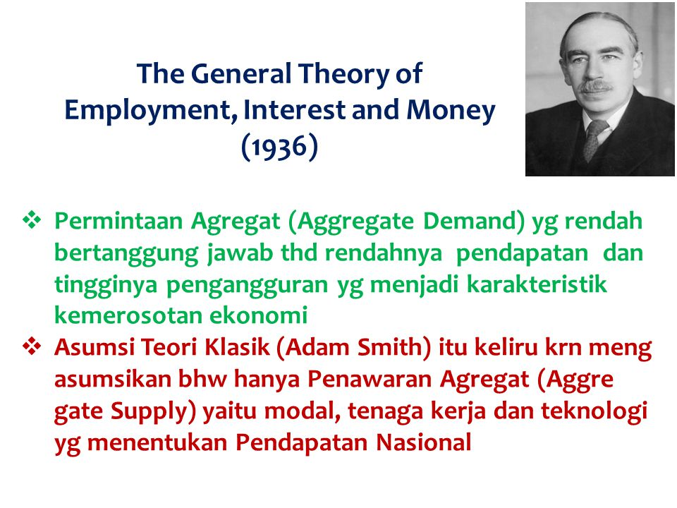 Employment, Interest and Money