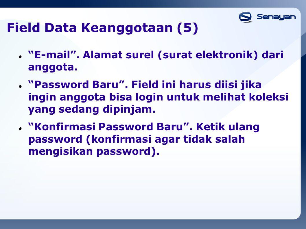 Field Data Keanggotaan (5)