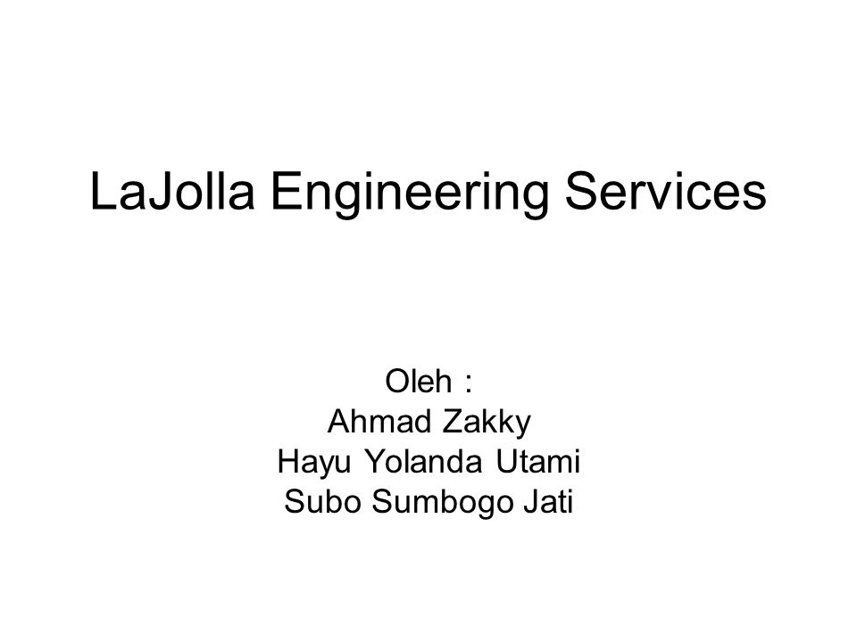 LaJolla Engineering Services