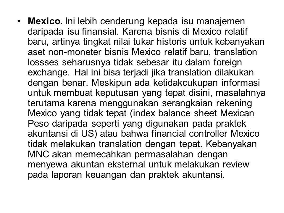 Mexico. Ini lebih cenderung kepada isu manajemen daripada isu finansial.