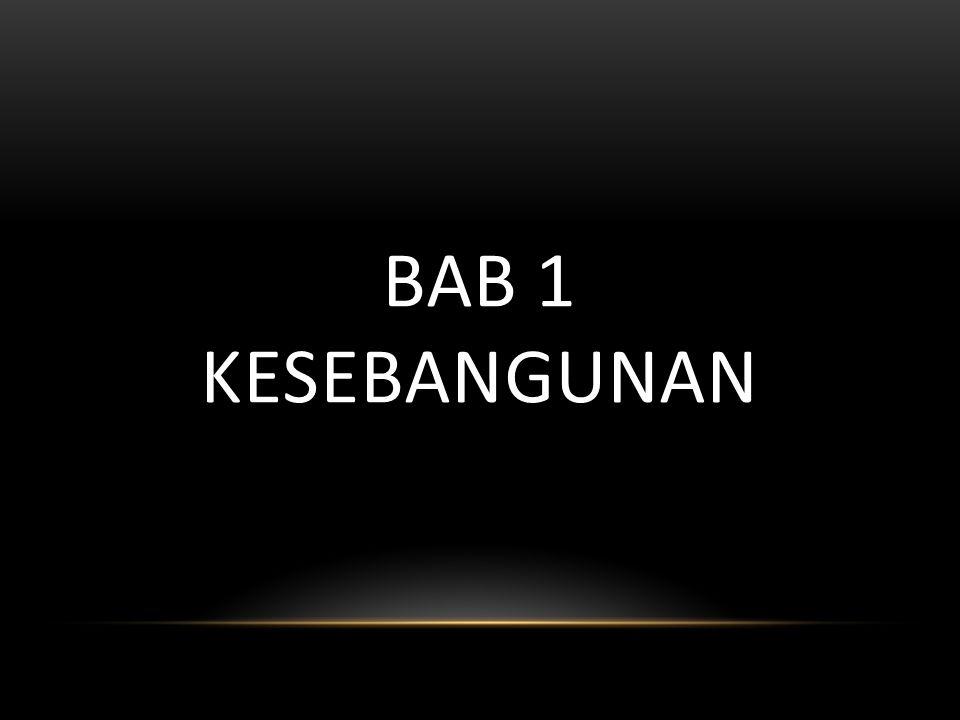 BAB 1 KESEBANGUNAN
