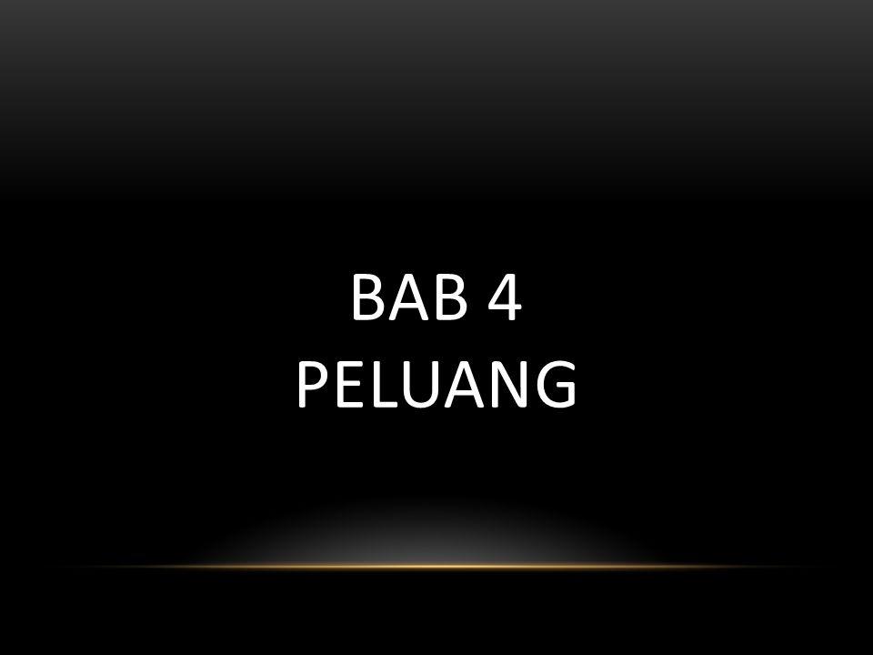 BAB 4 PELUANG