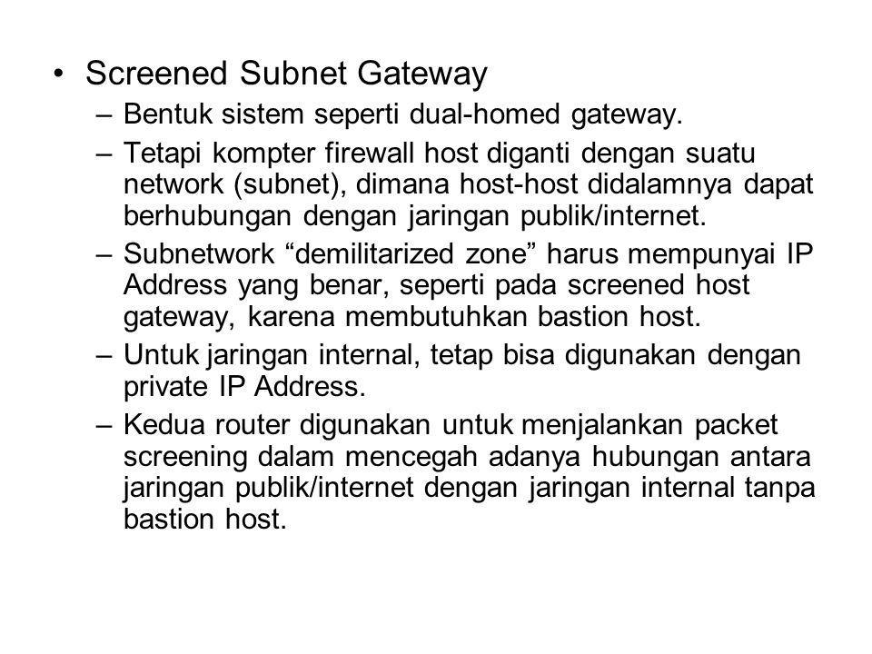 Screened Subnet Gateway