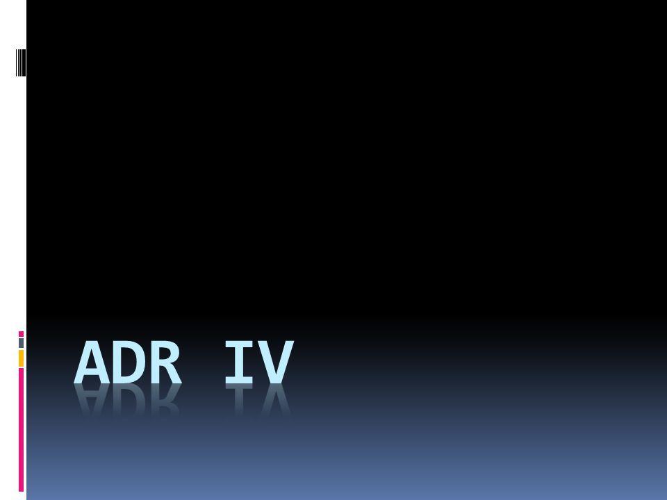 ADR IV