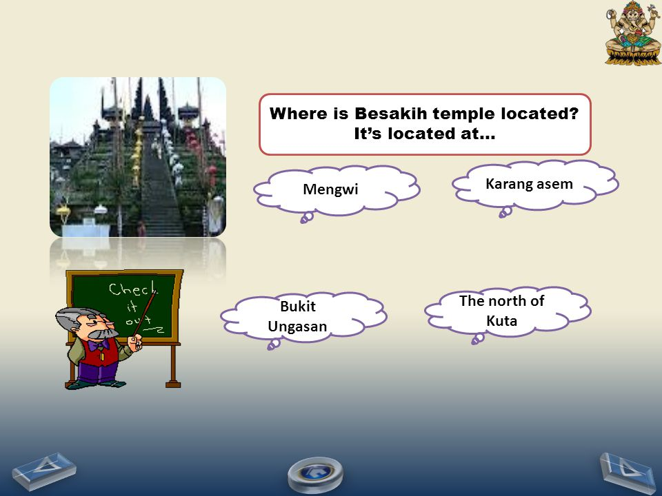 Where is Besakih temple located