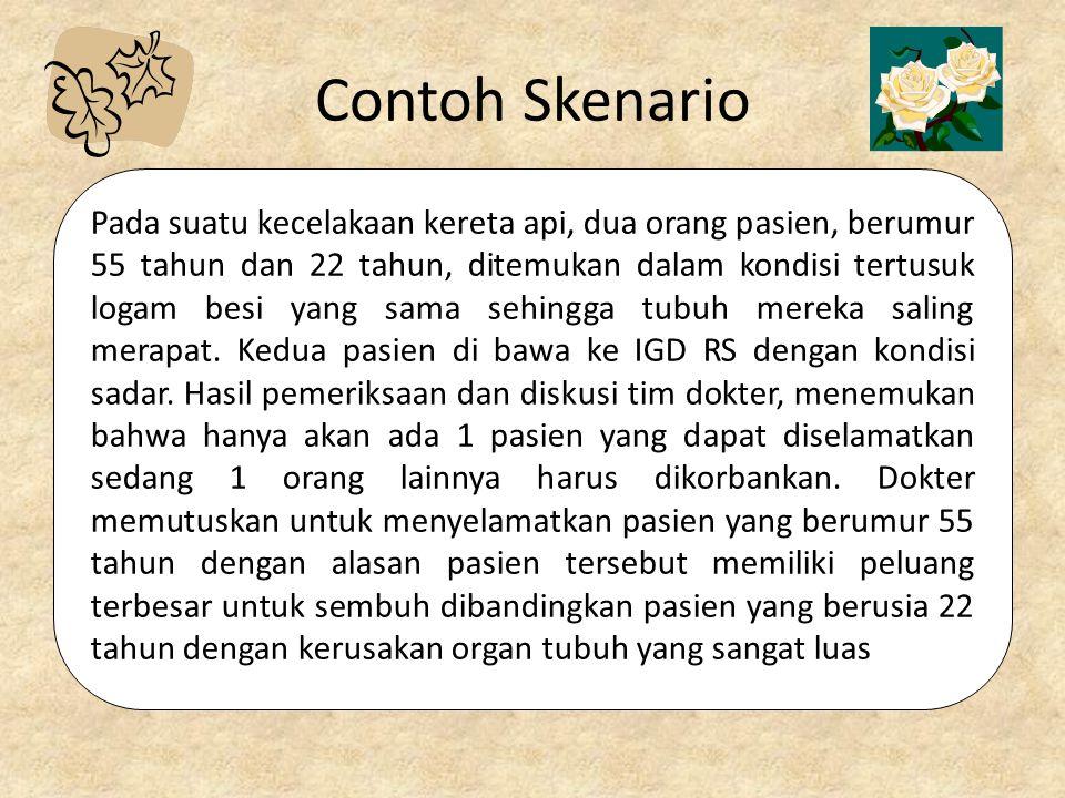 Contoh Skenario