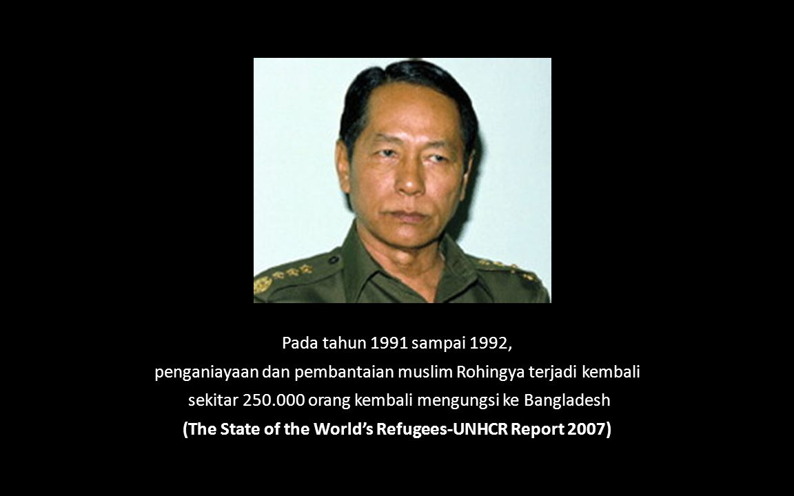 (The State of the World's Refugees-UNHCR Report 2007)