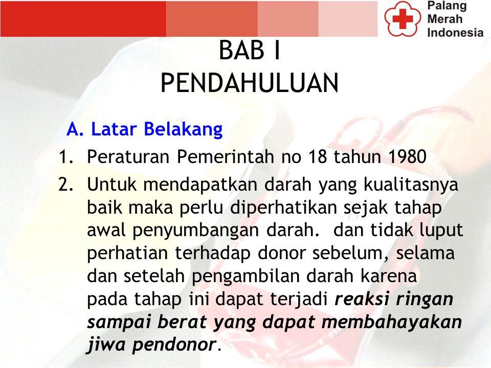 BAB I PENDAHULUAN A. Latar Belakang