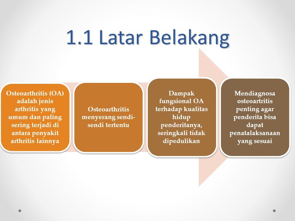 Osteoarthritis menyerang sendi-sendi tertentu