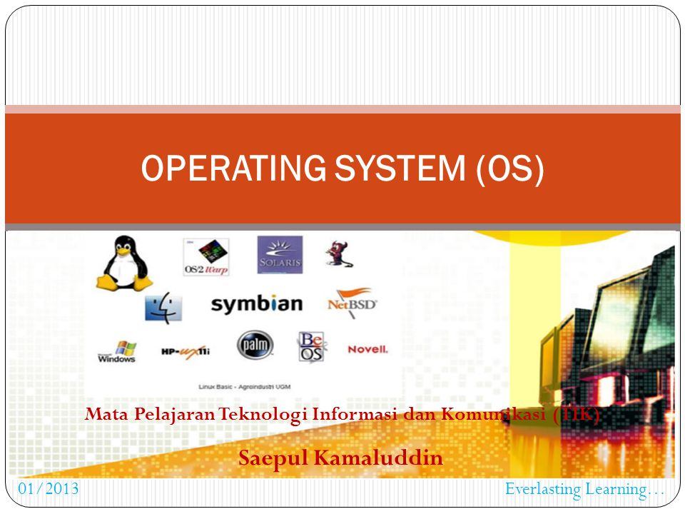 Mata Pelajaran Teknologi Informasi dan Komunikasi (TIK)