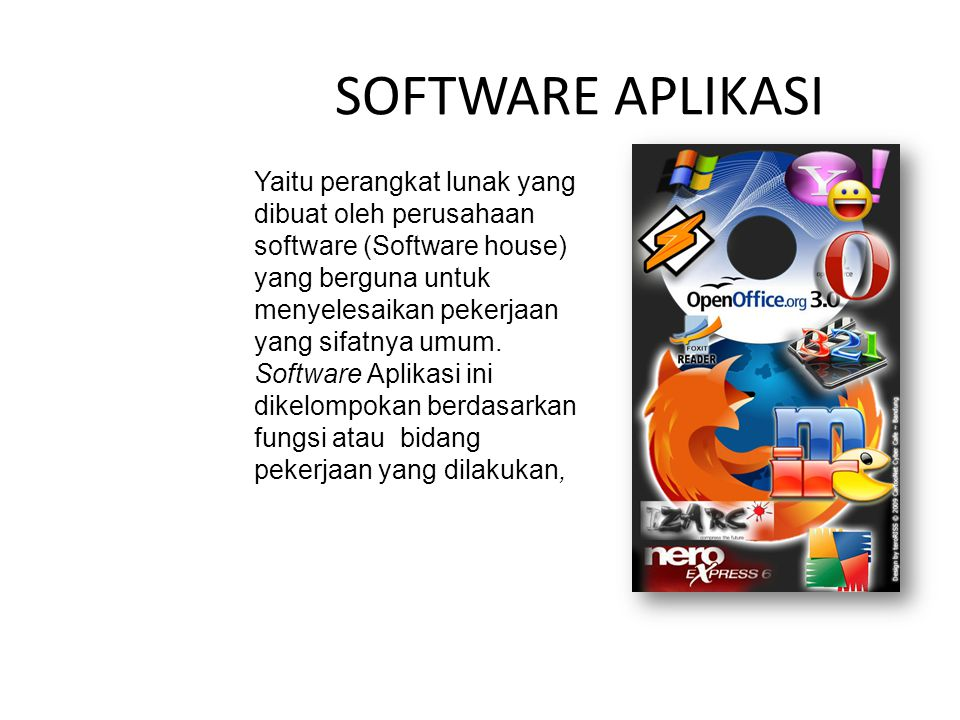 SOFTWARE APLIKASI
