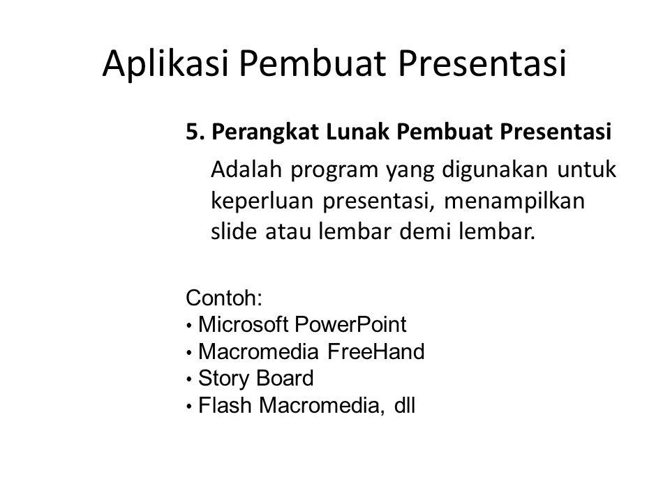 Aplikasi Pembuat Presentasi