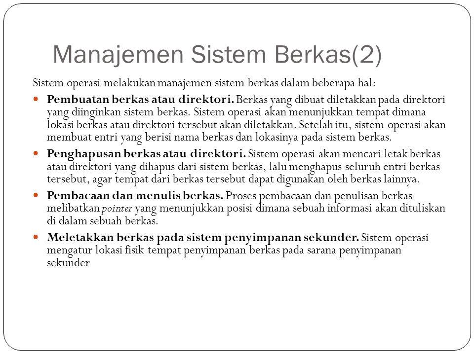 Manajemen Sistem Berkas(2)