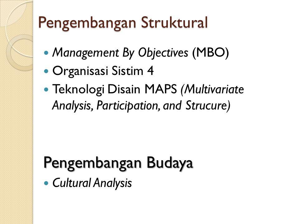 Pengembangan Struktural