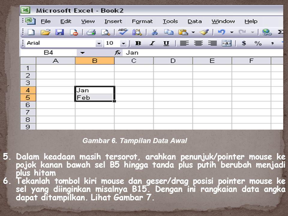 Gambar 6. Tampilan Data Awal