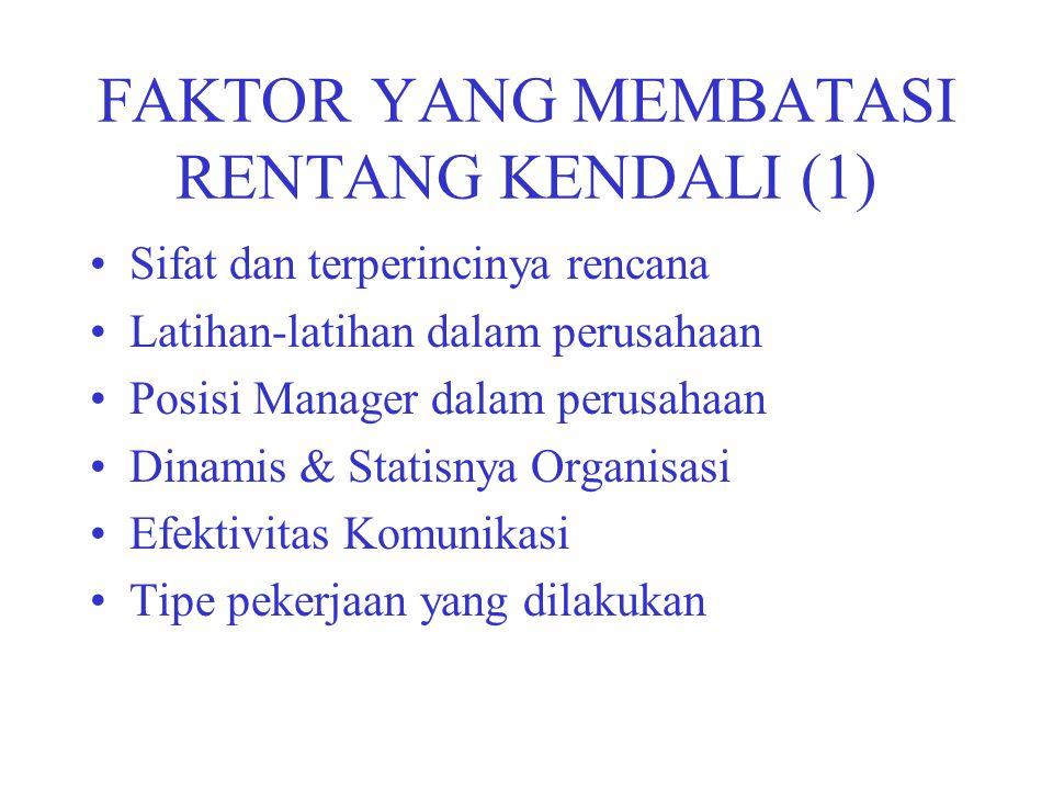 FAKTOR YANG MEMBATASI RENTANG KENDALI (1)