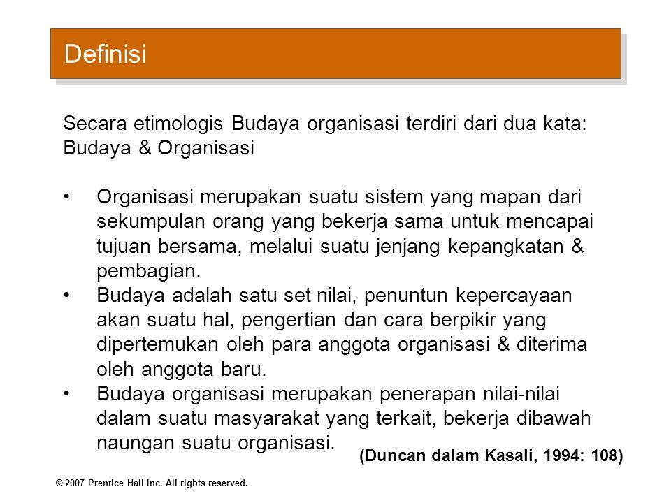Apakah Budaya Organisasi