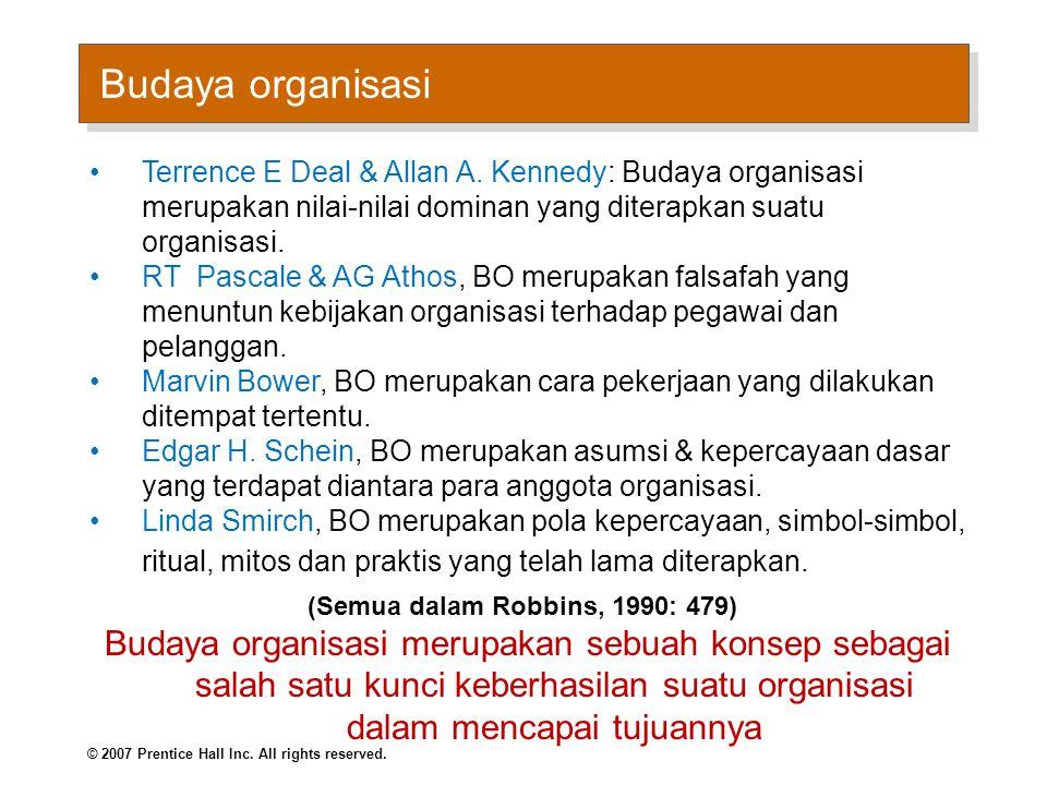 Kontras Organisasi Budaya