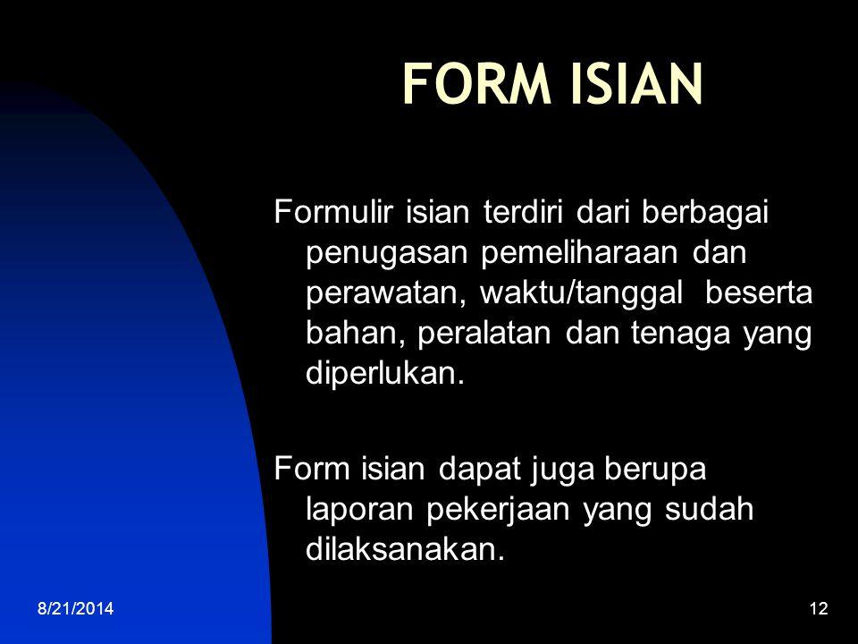 FORM ISIAN