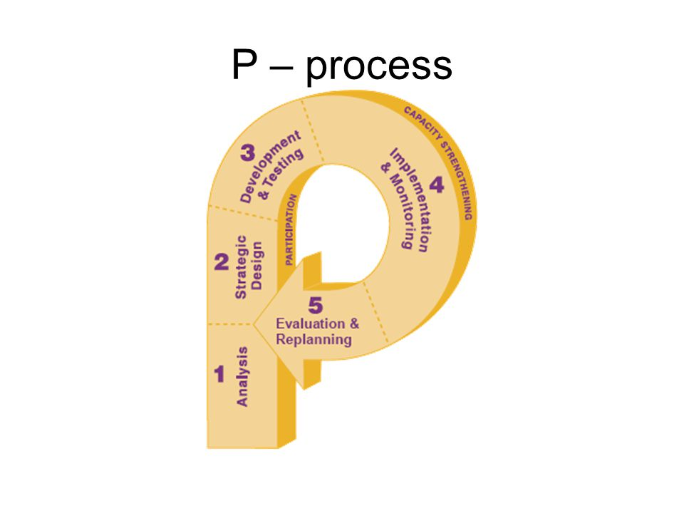 P – process
