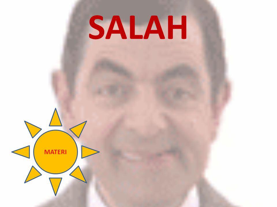 SALAH MATERI
