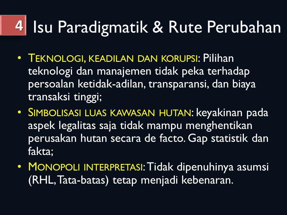 Isu Paradigmatik & Rute Perubahan
