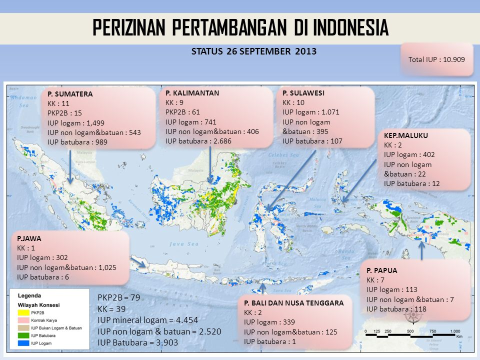 PERIZINAN PERTAMBANGAN DI INDONESIA