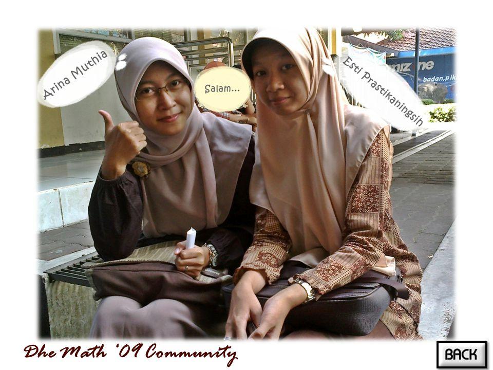Dhe Math '09 Community