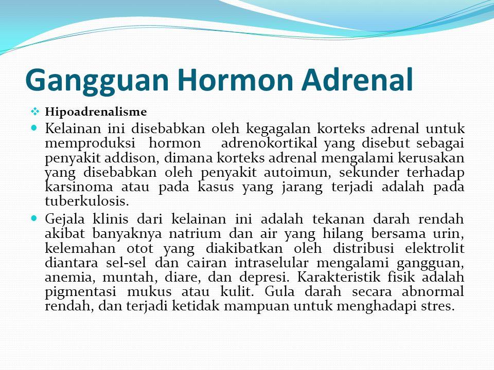 Gangguan Hormon Adrenal