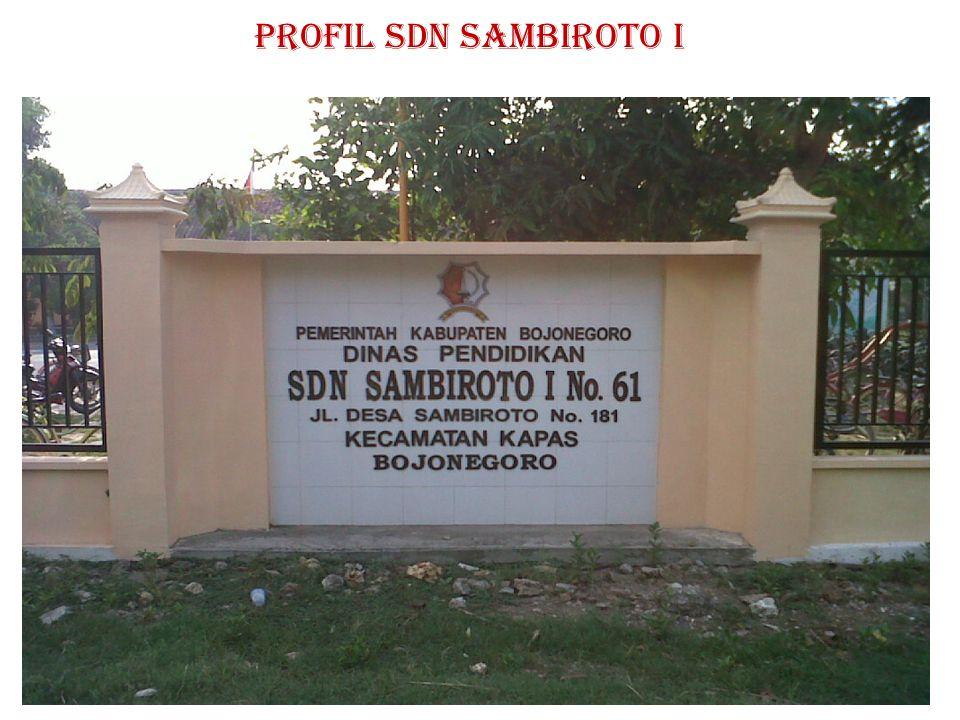 PROFIL SDN SAMBIROTO I