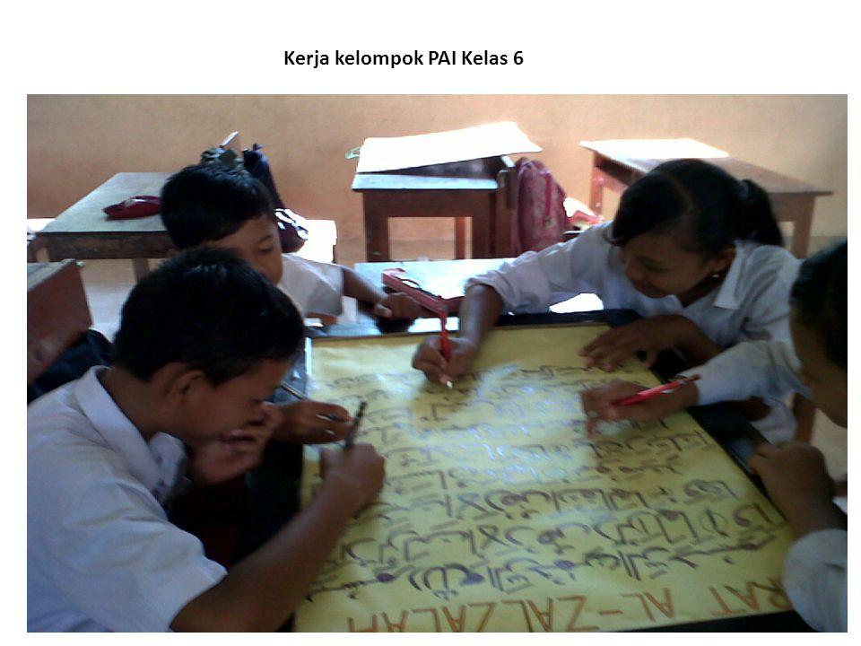 Kerja kelompok PAI Kelas 6