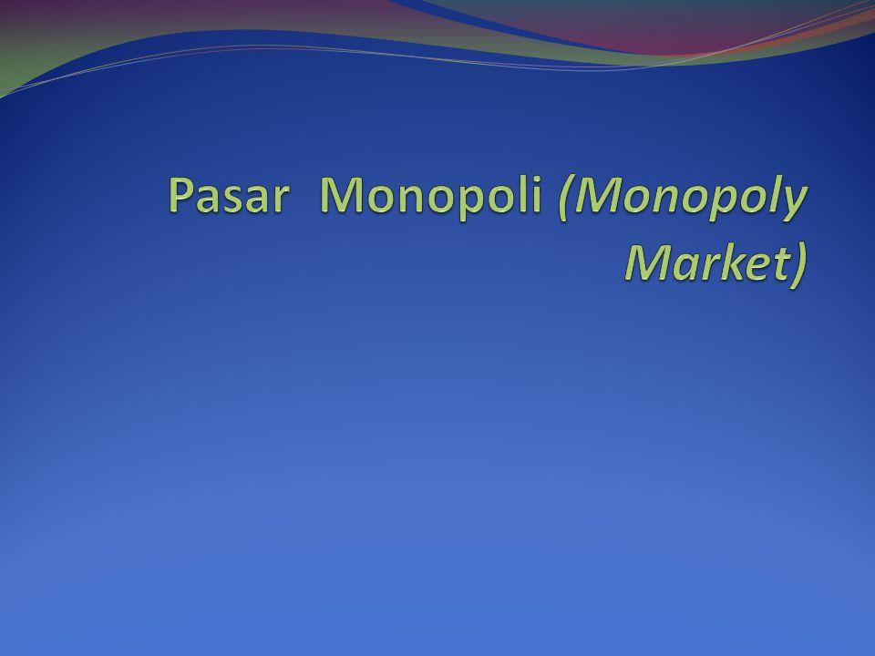 Pasar Monopoli (Monopoly Market)
