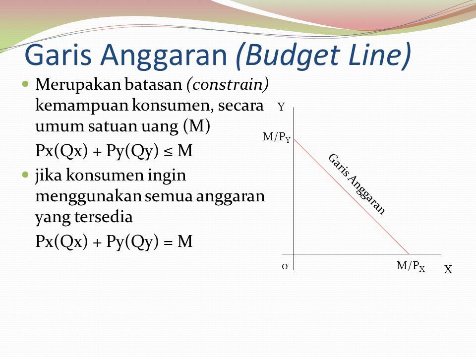 Garis Anggaran (Budget Line)