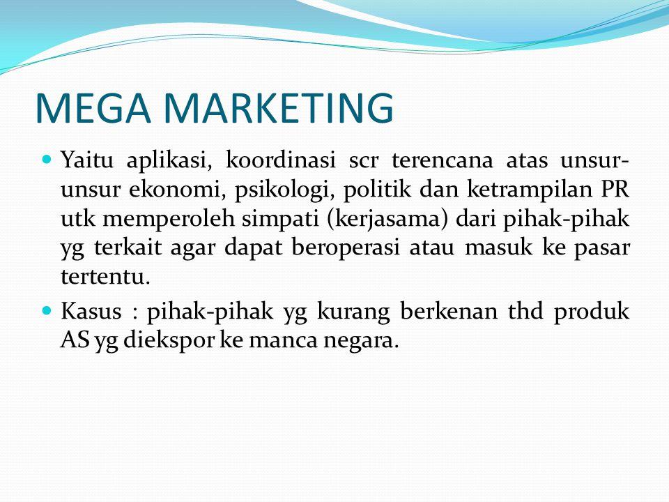 MEGA MARKETING