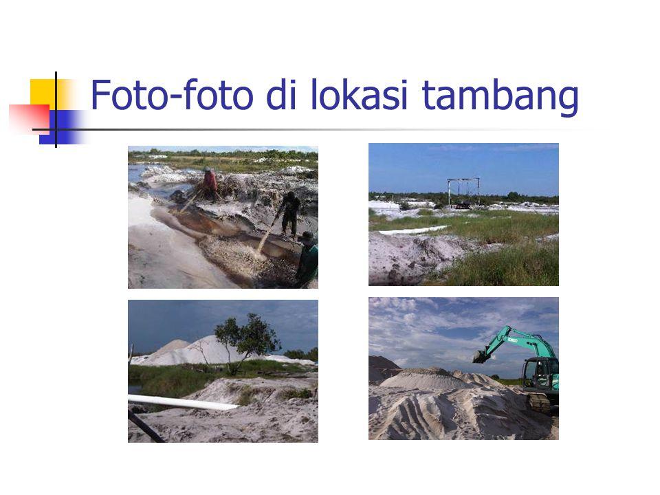 Foto-foto di lokasi tambang