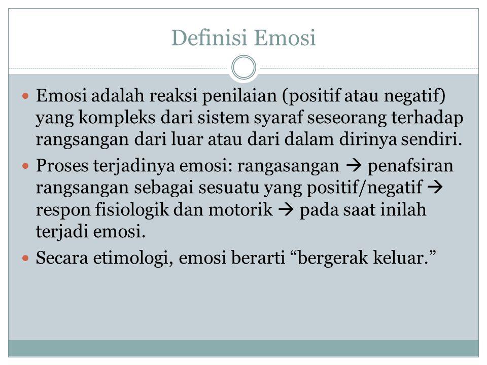 Definisi Emosi